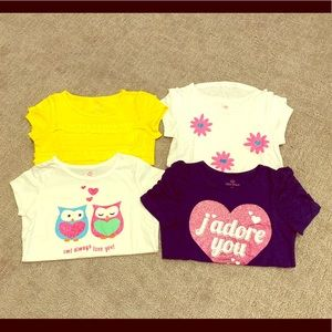 Cute Okie Dokie girls shirts